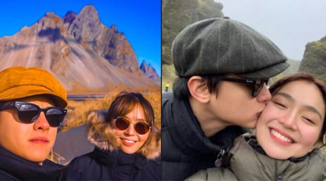LOOK: Kathryn Bernardo and Daniel Padilla's romantic trip in Iceland
