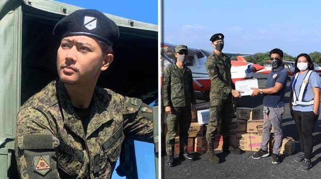 Army reservist Ronnie Liang to help in 30-day relief pack distribution in Metro Manila