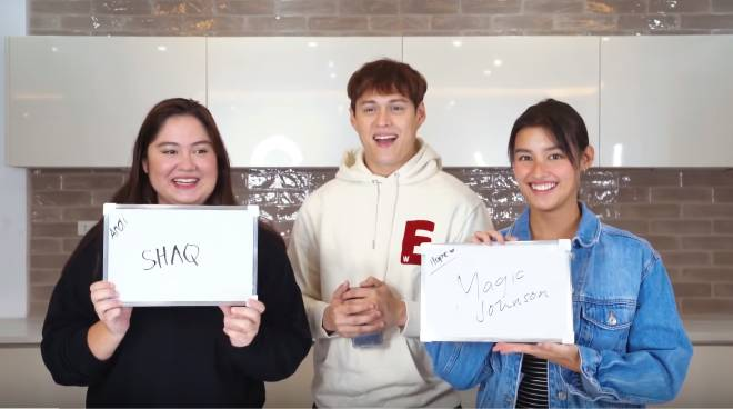 WATCH: Enrique Gil challenges Liza Soberano and sister Andie to 'Who Knows Me Better' game