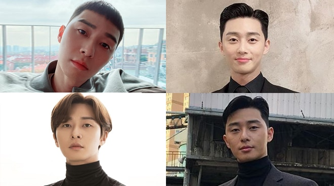 LOOK: Park Seo-joon's different hairstyles throughout the years