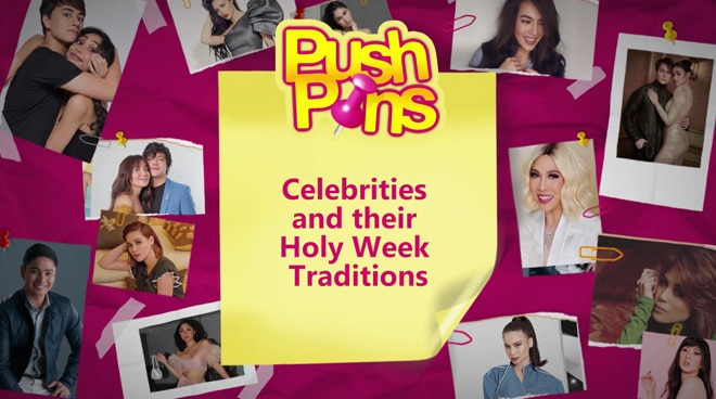 Celebrities and their Holy Week Traditions | PUSH Pins