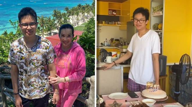 Kris Aquino celebrates Bimby's birthday: 'My bunso is no longer my baby, he's now officially a teenager'