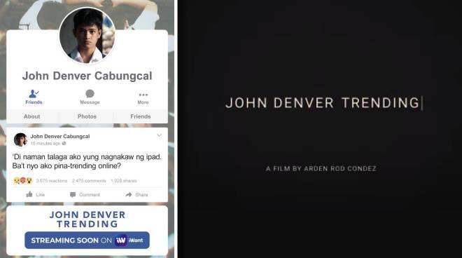 Cinemalaya best film 'John Denver Trending' to debut on iWant on Saturday