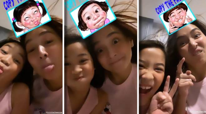 CUTENESS! Kathryn Bernardo aces the Copy That Face Challenge