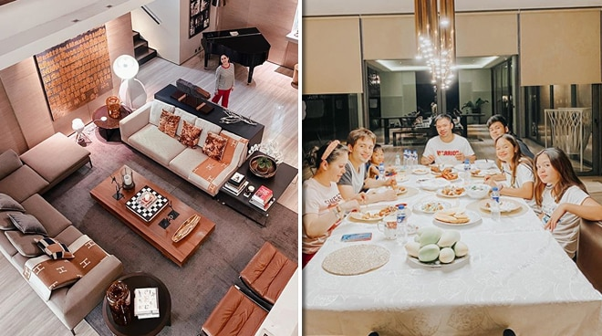 Take a tour around the elegant mansion of the Pacquiao family in these photos