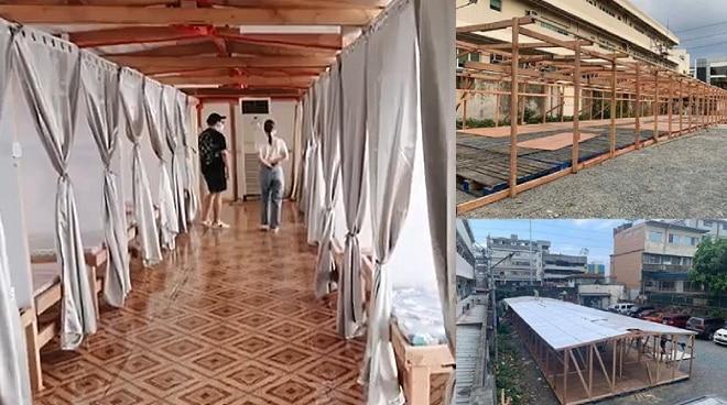 Emergency Quarantine Facility built via Barretto fundraiser to start operating on Saturday