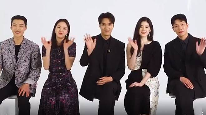 'Hello Philippines': Lee Min-ho, other cast members of 'The King: Eternal Monarch' greet Pinoy fans