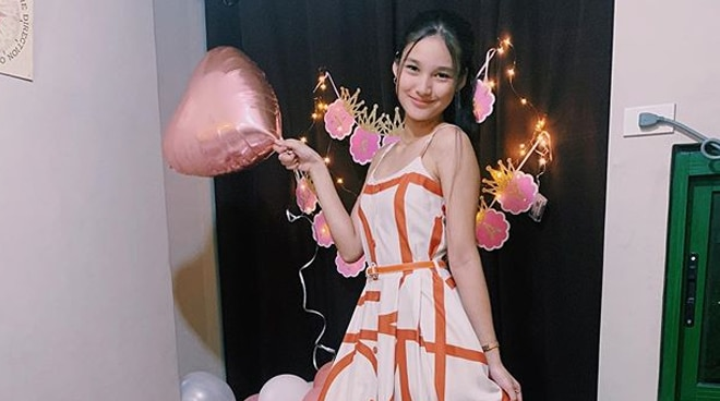 A QUARANTINE DEBUT: Karina Bautista celebrates her 18th birthday