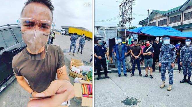 JM De Guzman, nagpaabot ng tulong sa mga stranded na pasahero sa Pier