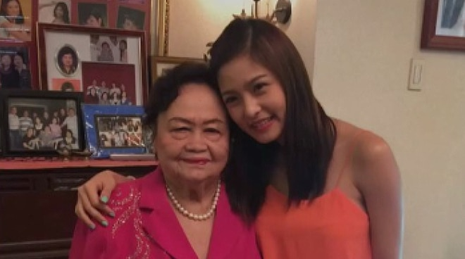 'Rest well in heaven, amah': Kim Chiu mourns death of grandmother