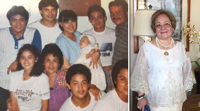 'Thank you for being good to me': Sharon Cuneta mourns death of Gabby Concepcion's mother