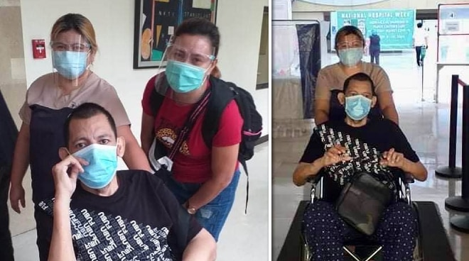 John Regala gets discharged from hospital