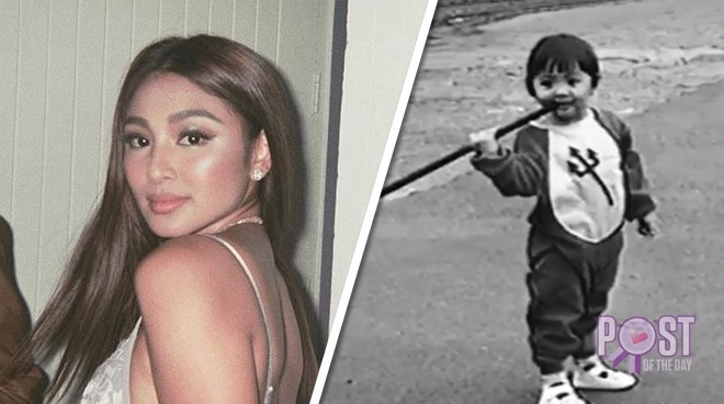 WATCH: Young Nadine Lustre captures the hearts of netizens