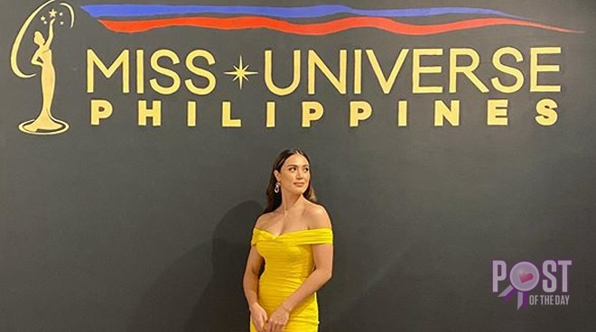 Michele Gumabao tries her luck in Miss Universe Philippines