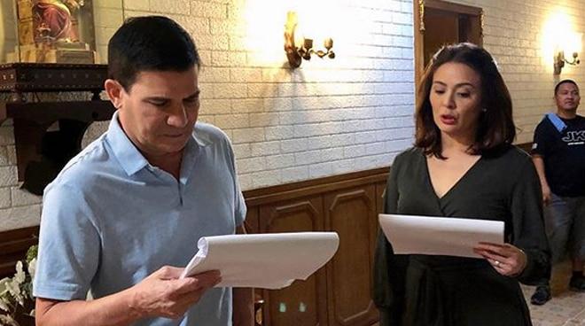 LOOK: Dawn Zulueta 'back to work' with Edu Manzano