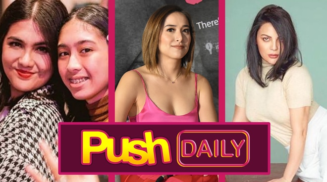Dimples Romana, Cristine Reyes and KC Concepcion   Push Daily Top 3