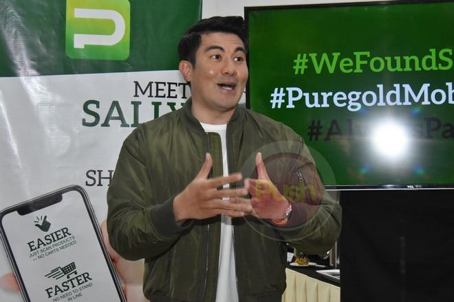 Luis Manzano for Puregold Mobile App