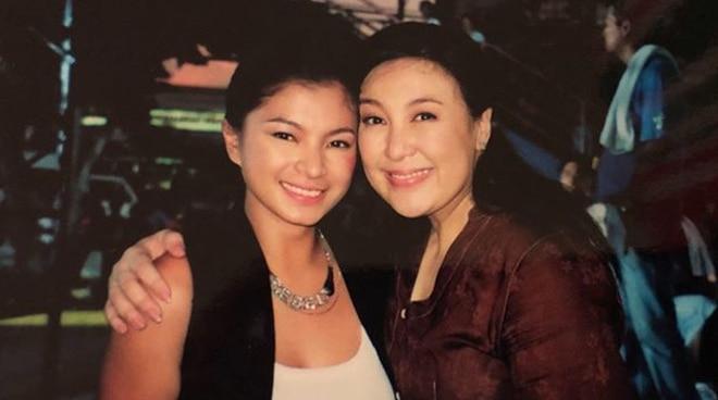 Sharon Cuneta posts throwback photo with Angel Locsin