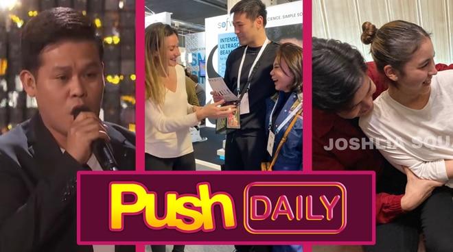 Marcelito Pomoy, Vicki Belo, Joshua Garcia and Julia Barretto | Push Daily Top 3
