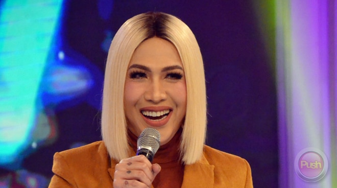 LOOK: Vice Ganda on the set of new show