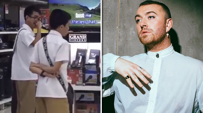 Sam Smith praises viral Pinoy student's cover of 'Too Good At Goodbyes'