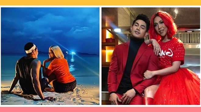 Vice Ganda enjoys the beach with boyfriend Ion Perez