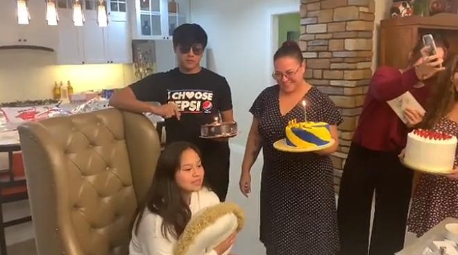 Karla Estrada surprises her youngest daughter Carmella on her birthday