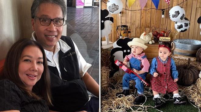 LOOK: Korina Sanchez, Mar Roxas celebrate birthday of twins