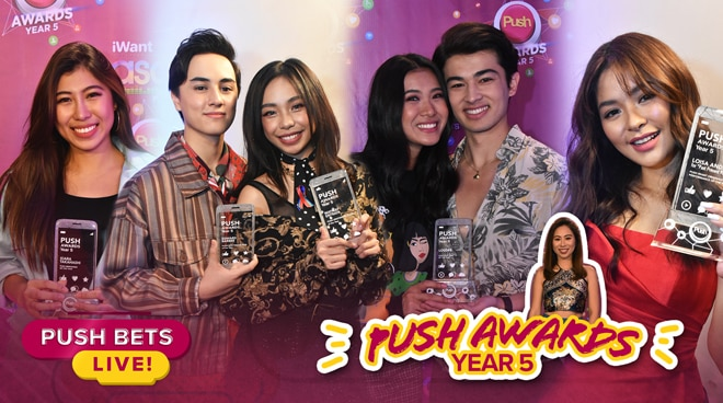 MayWard, LouDre, Loisa Andalio, Kiara Takahashi at iba pang mga celebrities na wagi sa PUSH Awards Year 5 | PUSH Bets Live