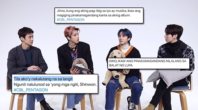 WATCH: K-Pop group Pentagon responds to tweets of Pinoy fans in Tagalog