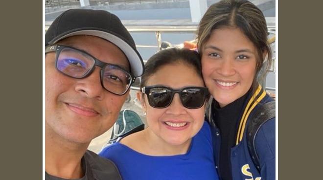 Gary Valenciano, Angeli Pangilinan send off daughter Kiana, wish luck on new journey