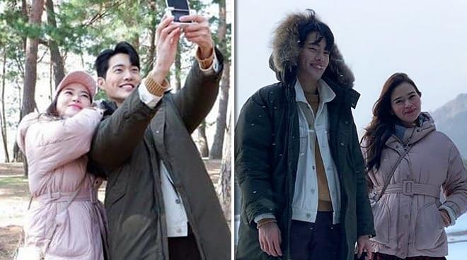 Behind-the-scenes: Bela Padilla, Kim Gun-woo in South Korea for 'Ultimate Oppa'