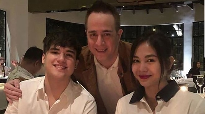 Janella Salvador spotted with Markus Paterson at father's gig