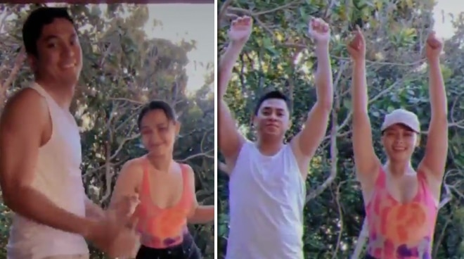Maja Salvador and Rambo Nunez doing TikTok dance challenges in Boracay is the cutest thing you'll see today