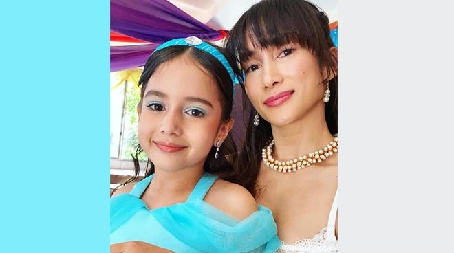 LOOK: Ina Raymundo's daughter transforms into Princess Jasmine at 7th birthday party