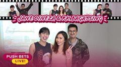 Jane Oineza at RK Bagatsing, sumabak sa Five Second Rule | PUSH Bets Live
