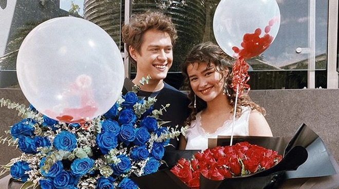 LOOK: Enrique Gil's sweet Valentine's Day surprise for Liza Soberano
