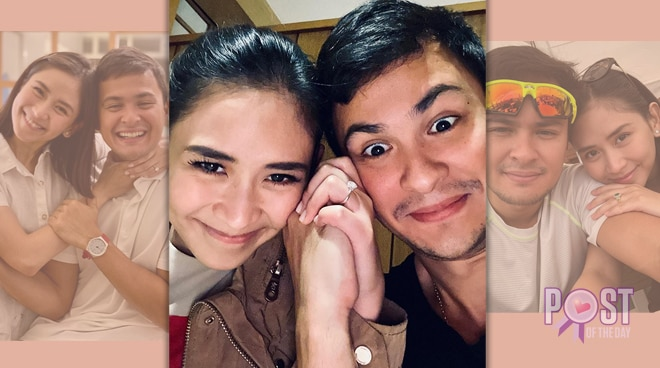Matteo Guidicelli pens sweet message for fiancée Sarah Geronimo on Valentine's Day