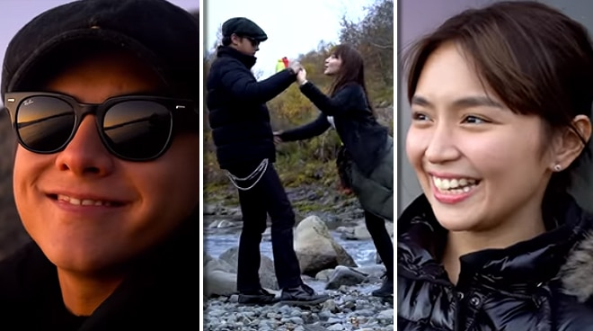 Kathryn Bernardo shares Iceland moments with Daniel Padilla in first vlog