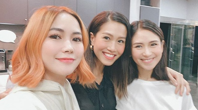Sarah Geronimo, Rachelle Ann Go attend block screening of 'Write About Love'