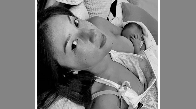 Solenn Heussaff posts first photo with daughter