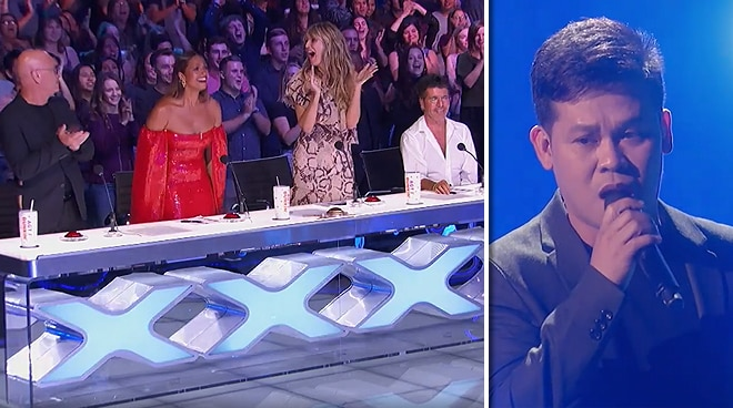 WATCH: Marcelito Pomoy receives standing ovation on 'America's Got Talent: The Champions'