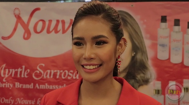 Myrtle Sarrosa offers part of her talent fee to Taal Eruption victims