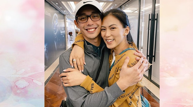 Is Alex Gonzaga already engaged to Mikee Morada?