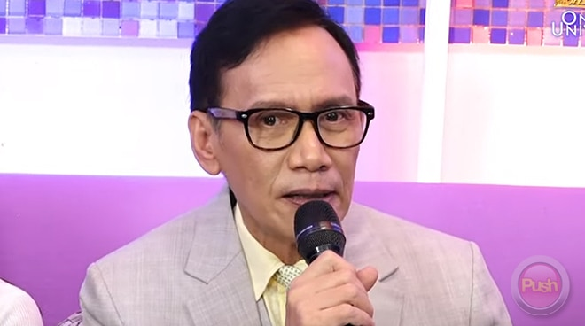 Rey Valera reveals he underwent surgical operation due to intestinal problems