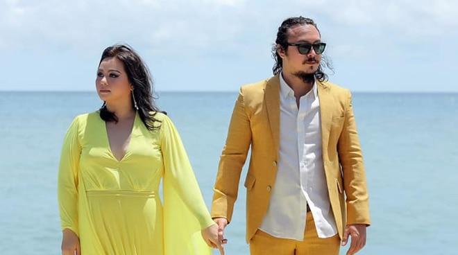 LOOK: Prenup shoot of Baron Geisler, wife in Cebu