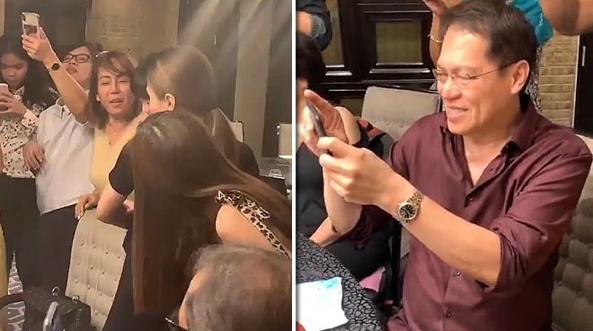 WATCH: Mommy Pinty, Daddy Bonoy's reaction to Alex Gonzaga's engagement