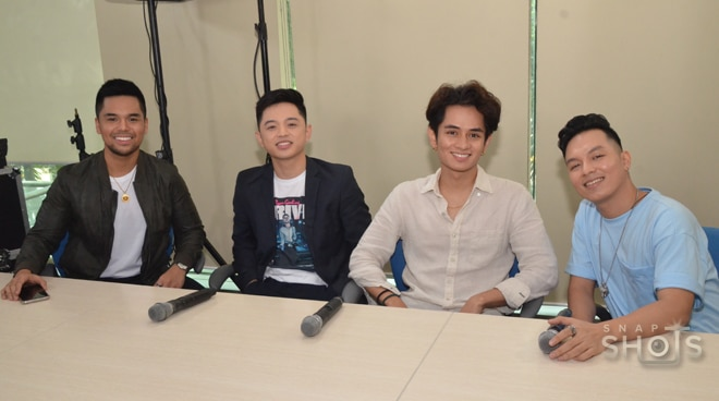 Young artists Sam Mangubat, Jeremy Glinoga, Miguel Odron, and JMKO together for a concert
