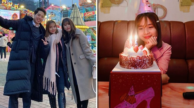 WATCH: Kristel Fulgar's fun birthday celebration in Korea