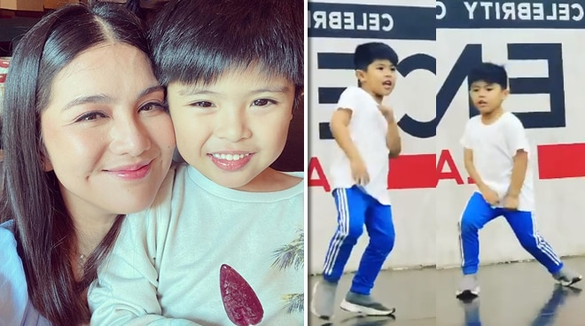 WATCH: Dimples Romana brings son Alonzo to dance class
